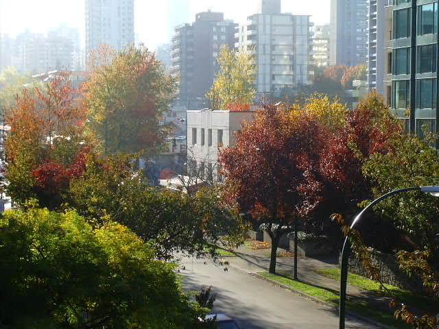 Vancouver en automne