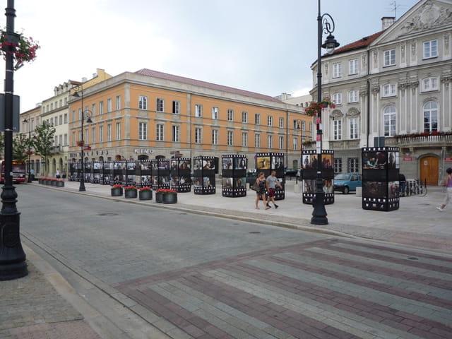 varsovie en juillet
