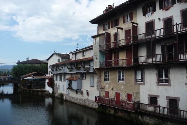 Veilles maisons à St Jean Pied-de-port