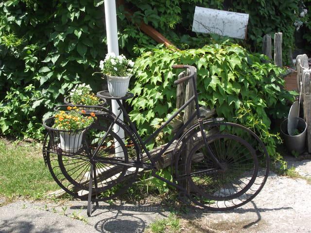 Vélo en acier