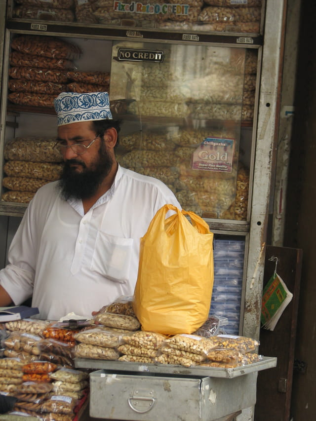 Vendeur arabe