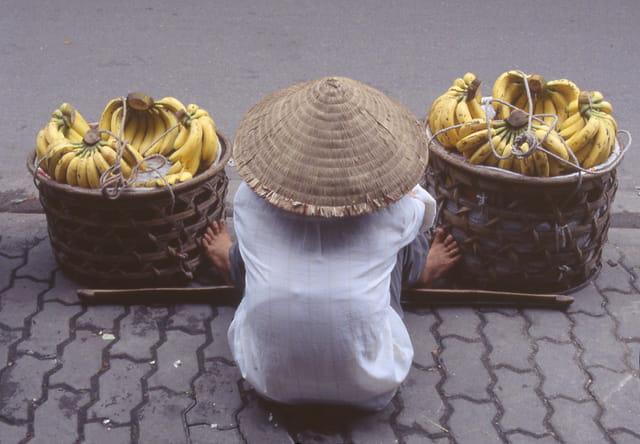 Vendeur de banane