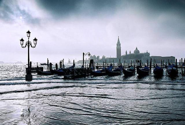 Venise. aqua alta