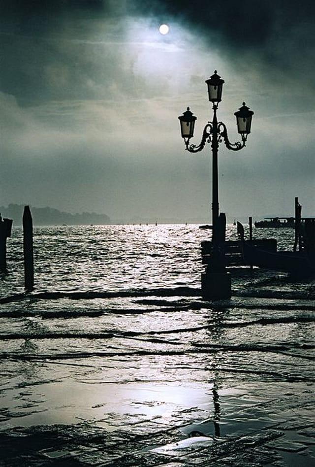 Venise. le ciel se couvre
