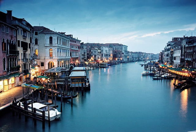 Venise. le grand canal
