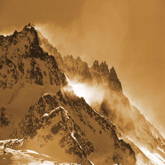 Vent sur les Alpes