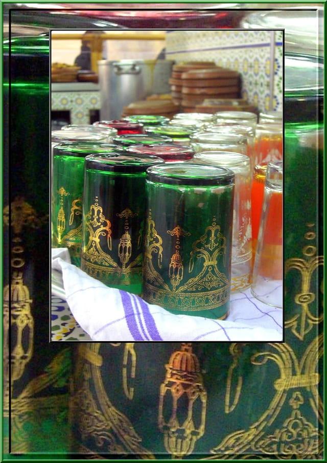 Verres à thé marocains