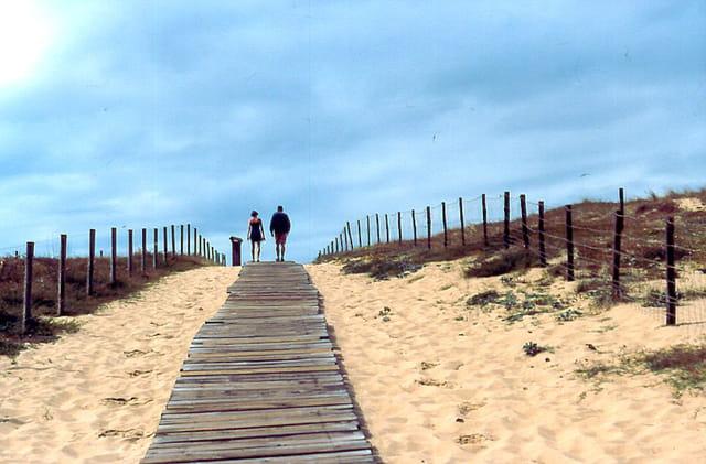 Vers les plages