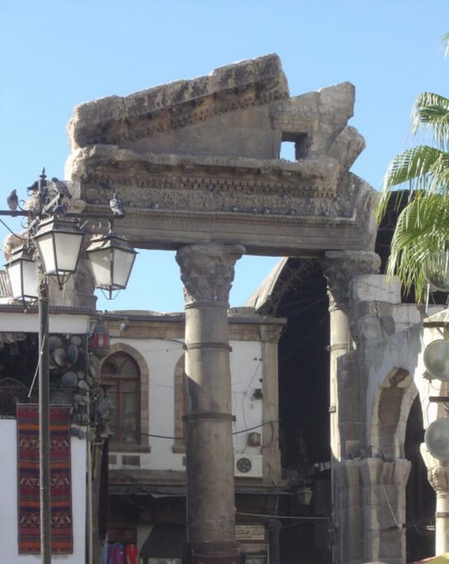 Vestiges du temple de Jupiter