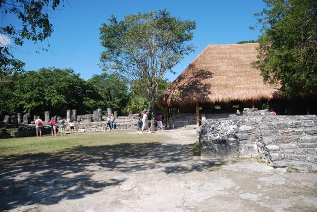 vestiges Maya sur l'île de Cozumel