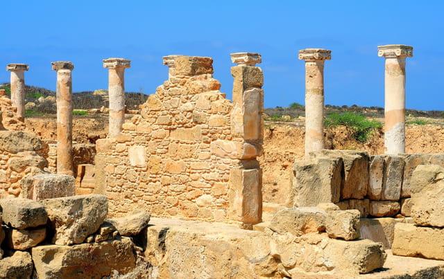 Vestiges romains à Paphos