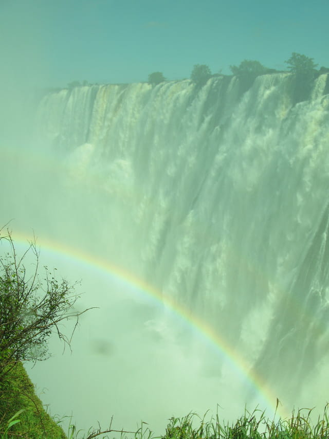 Victoria Falls and the Rainbow