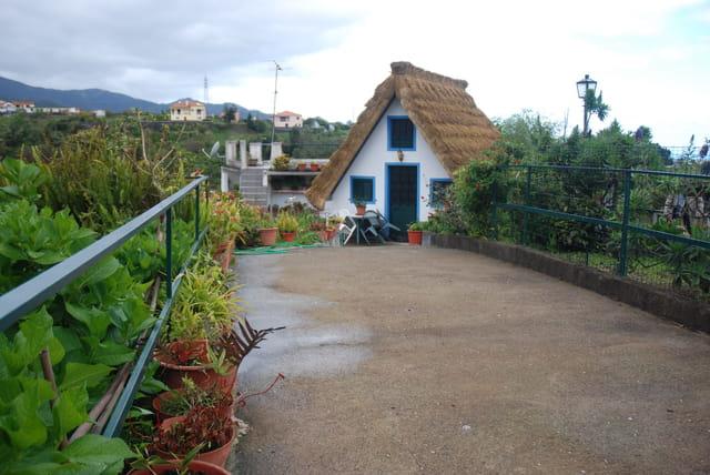 vieille maison typique de l'île de Madère
