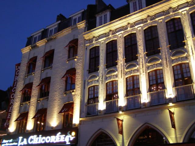 Vieilles façade de Lille
