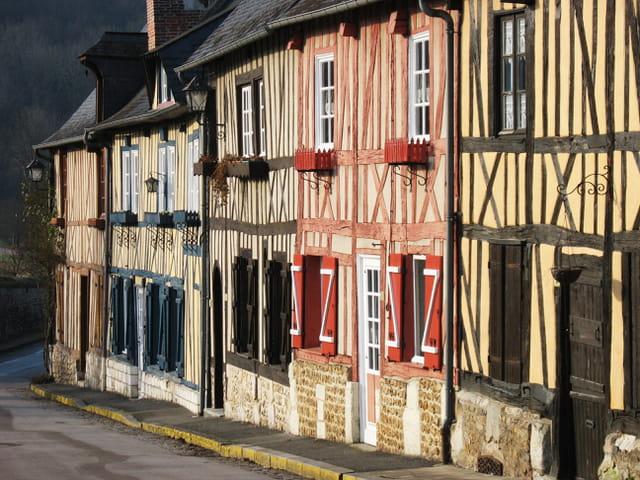 Vieilles maisons normandes