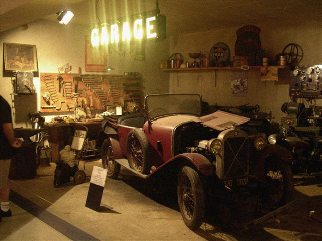 Vieux garage