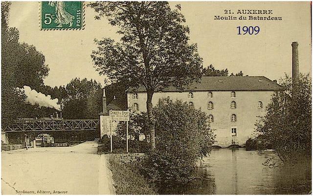 Vieux moulin du batardeau