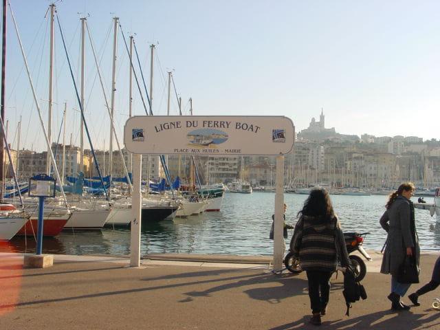 Vieux port ferry