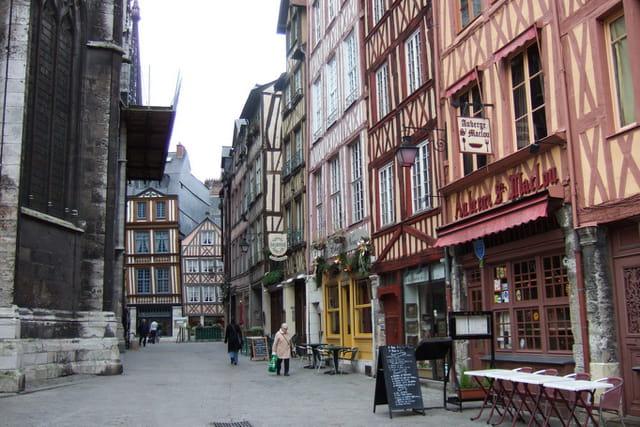 Vieux quartiers rouen