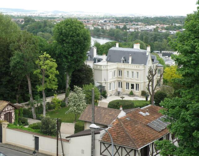 Villa alpicoise et la Seine
