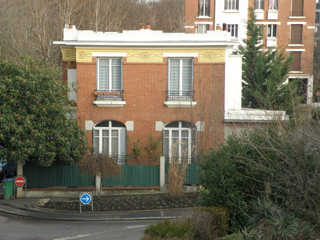 Villa alpicoise, rue du Printemps
