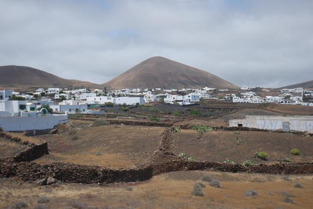 village de l'île de Lanzarote