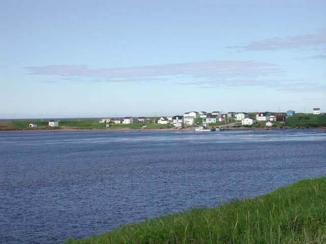 Aguanish, village de pêche.