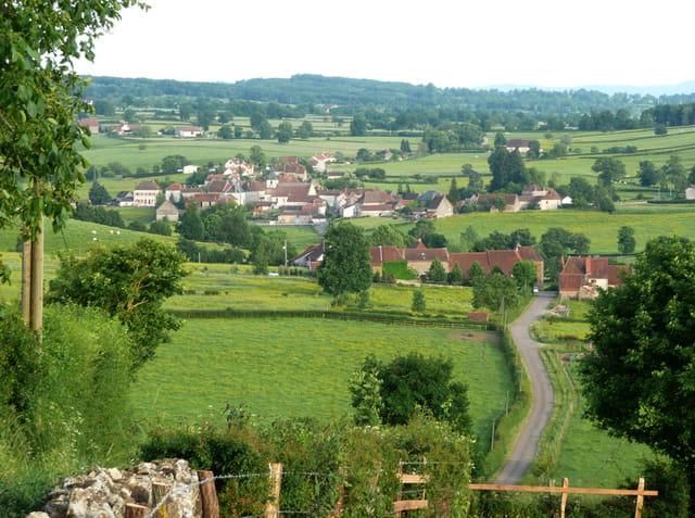Village du Charolais-Brionnais