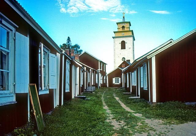 Village-église de Gammelstad