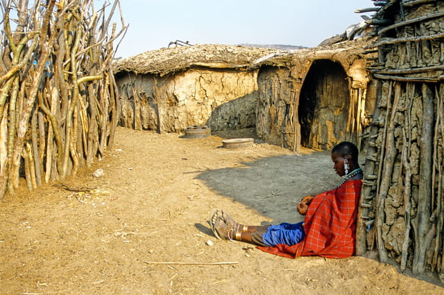Village masaï de Tanzanie