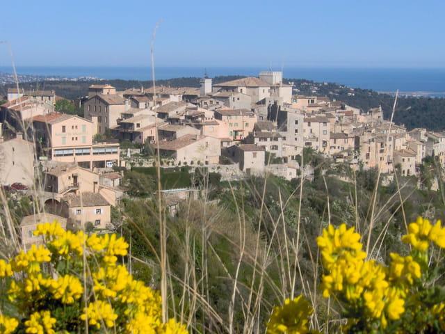Village médiéval de la Cöte d'Azur