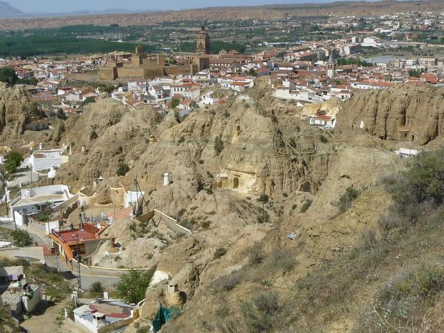 Village troglodyte de Guadix