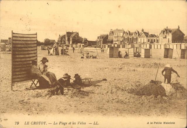 Villas au bord de la plage