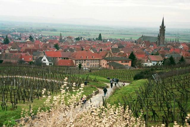 Ville fortifiée au 15è siècle