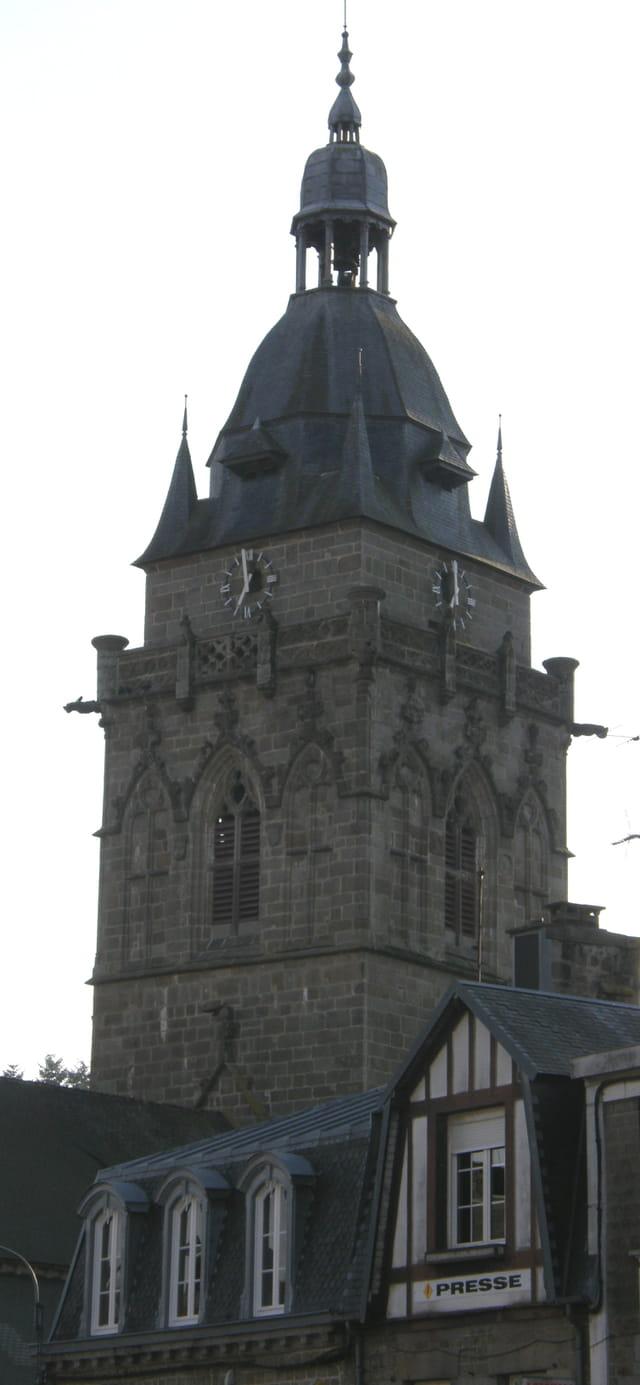 Villedieu-les-Poêles, le clocher