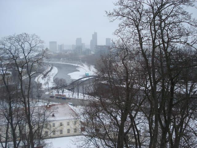 Vilnius vue de chateau