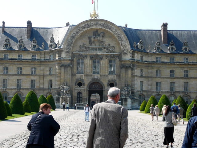 Visite de l'Hôtel des Invalides à Paris du 20 mai 2008 3