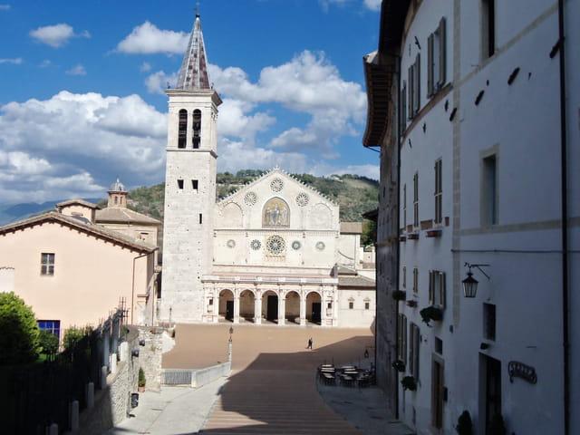 Visite de la ville de Spoleto
