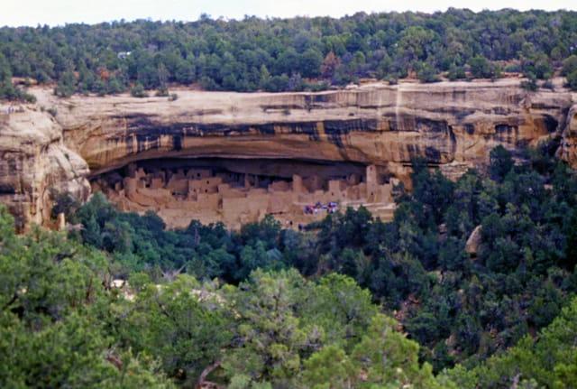 Visite de Mesa Verde National  Park aux USA