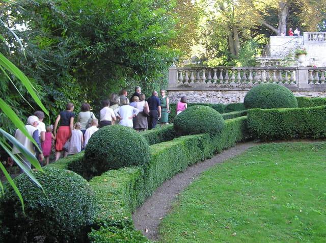 Visite des jardins du Pavillon Sully