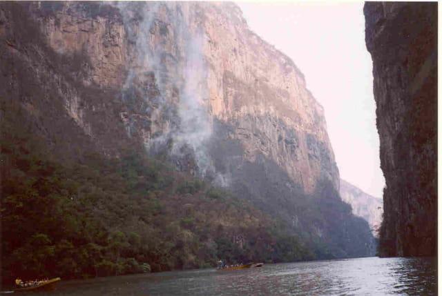 Visite du Canyon