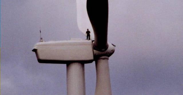 Visite du site éolien de peyrelevad