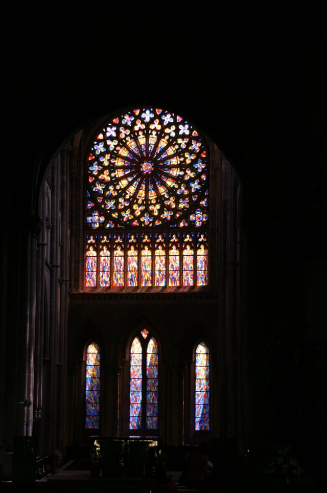 Vitail de la cathédrale de Saint Malo