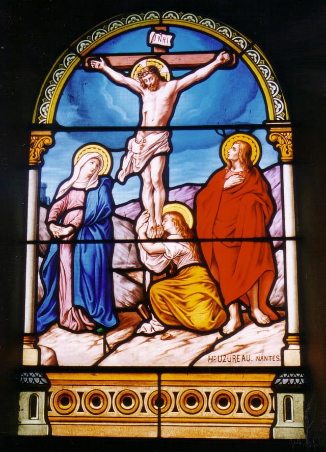 Vitrail de la Chapelle St Sauveur