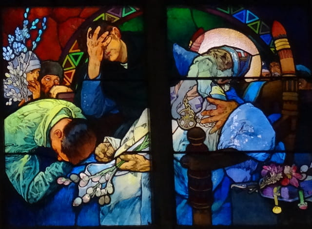 vitrail de Saint Guy