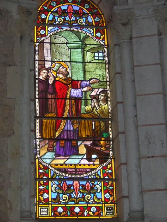 Vitrail (saint Martin)