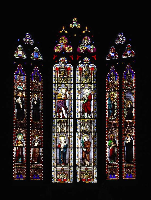 Vitraux de l'église Saint-André