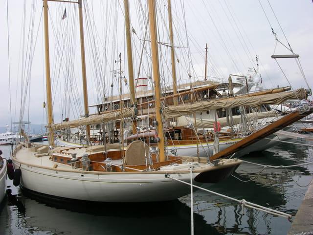 Voiliers à St Tropez