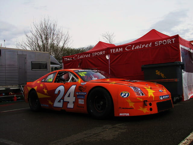 Voiture de course Racecar - Nogaro.