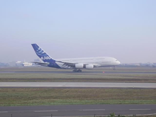 Vol d'essai de l'A380